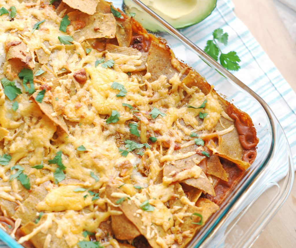 quick and simple taco bake
